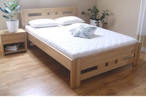 łóżko Drewniane Bukowe Solidne Rama76 180x200 Tanio Sklep