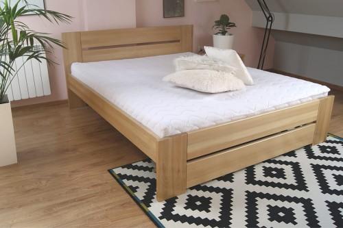 łóżko Drewniane Bukowe Solidne Rama87 140x200