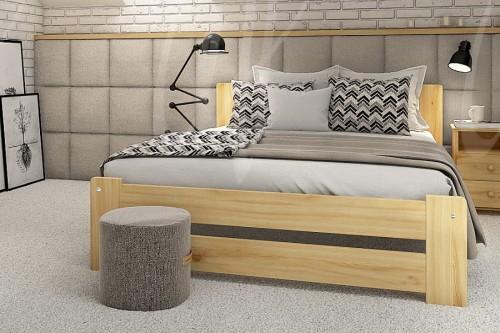 łóżko Drewniane Sosnowe Rama86 140x200